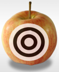 Target Apple. Image courtesy of stock.xchng®