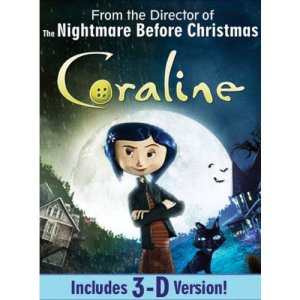 Coraline DVD Cover