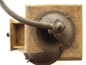 Old Coffee Mill. Image courtesy of stock.xchng®