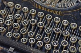 Underwood Typewriter Keys
