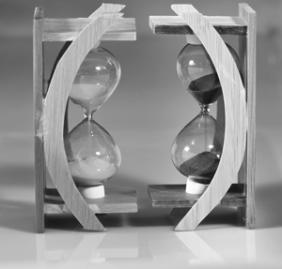 Double Hour Glass. Black & White. Double Hour Glass. Black & White.