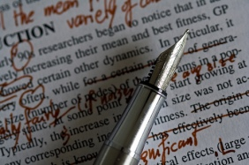 Editing_I tend to scribble. Image courtesy of Unhindered by Talent under a Creative Commons License