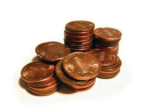 Pennies. Image courtesy of stock.xchng®
