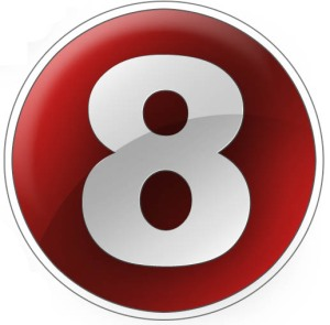 number 8. Image courtesy of stock.xchng®