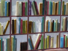 Book Mural at Denver Public Library
