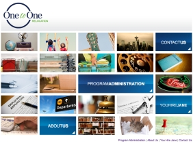 Jesaka Long Portfolio B2B Website One to One Relocation Homepage. All rights reserved.