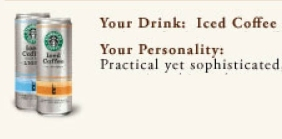 Portfolio: your drink says a lot about you image excerpt