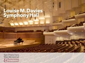 Portfolio: Davies Symphony Hall Brochure Cover